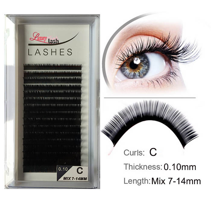 Silk Eyelash Extensions Supplies