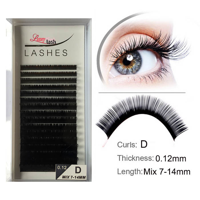 Best lashes for silk lash extensions Supplies
