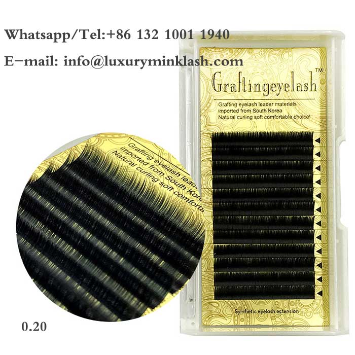 Wholesale Silk Mink single Eyelash Extensions