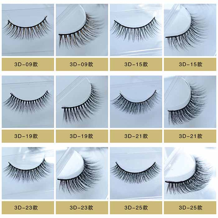 Factory Supply 3D Silk False Eyelashes