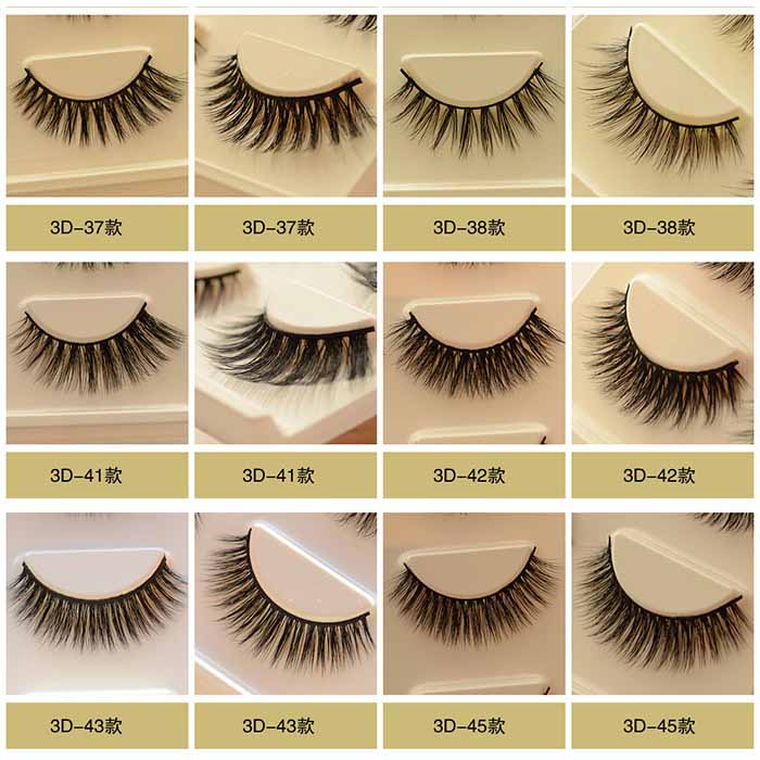 The Cheapest Price 3d Mink Eyelashes Upper Real Mink Lashes Soft Natural False Eyelashes 1 Pair Handmade Fake Eye Lashes Extension To Enjoy High Reputation At Home And Abroad Beauty & Health