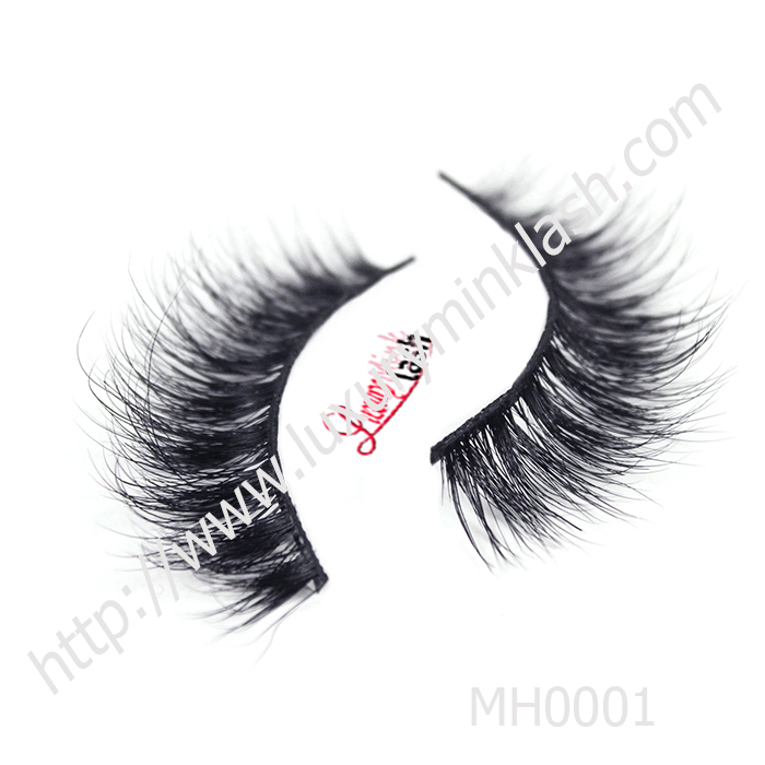 The newest style 3D horse eyelashes