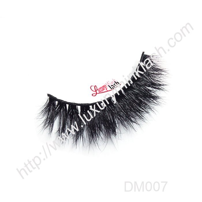 Best 3D Mink Eyelashes DM007