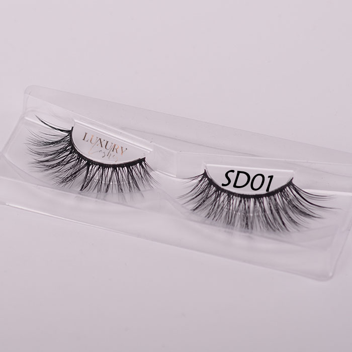 Top quality 3d silk eyelashes SD01 wholesale