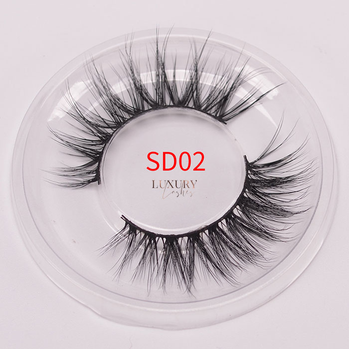 Top quality 3d silk eyelashes SD02 wholesale