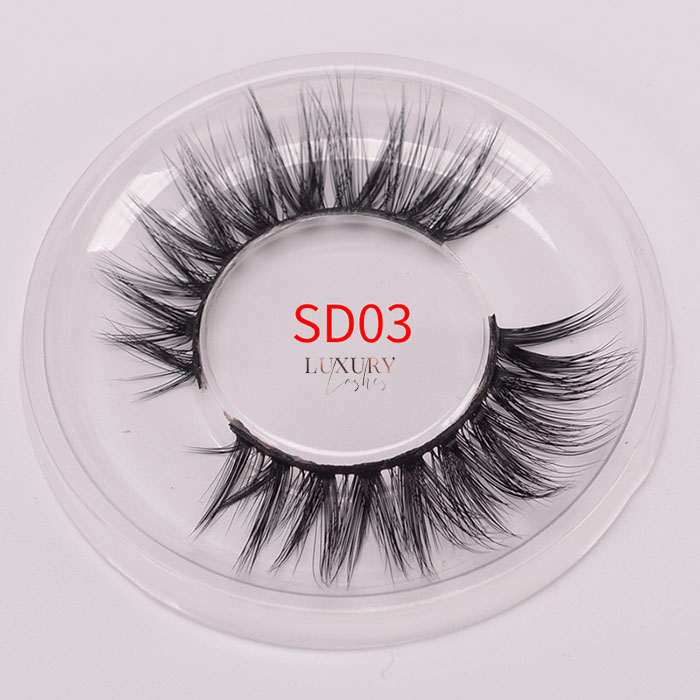 Top quality 3d silk eyelashes SD03 wholesale