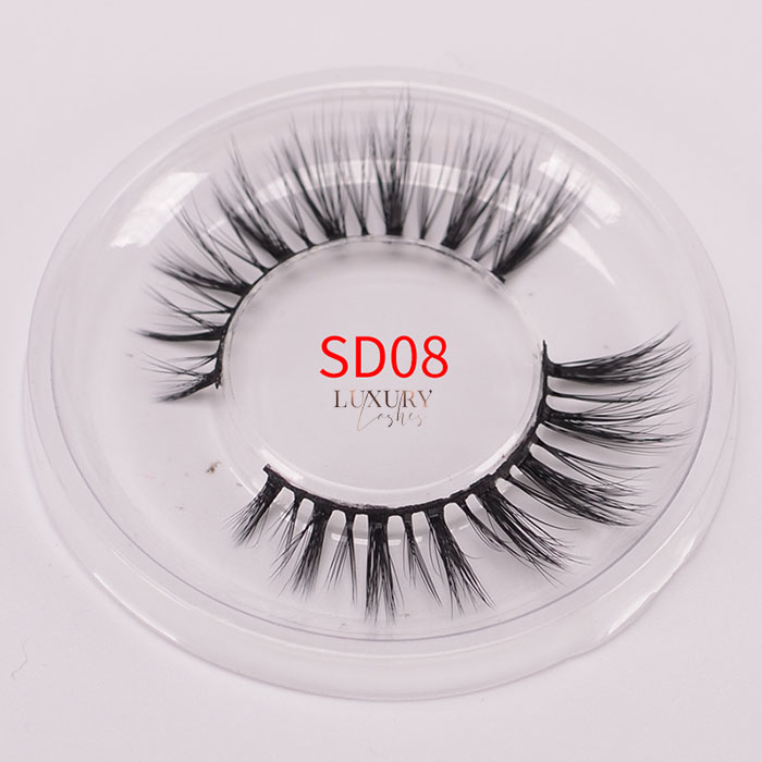 Top quality 3d silk eyelashes SD08 wholesale