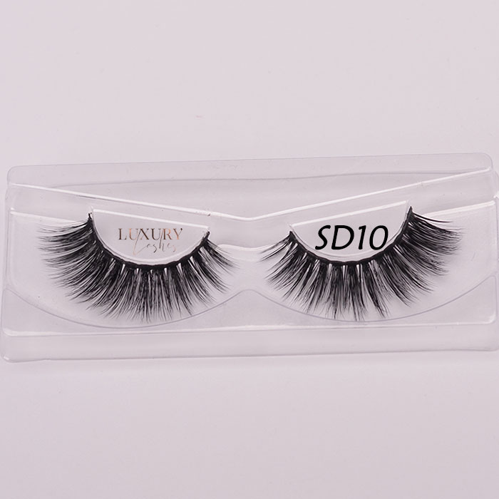 2019 newest best 5D faux mink eyelashes SD10 wholesale