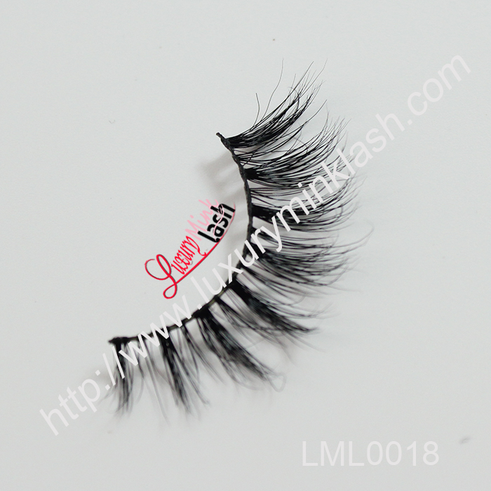 Top quality hand made mink eyelashes