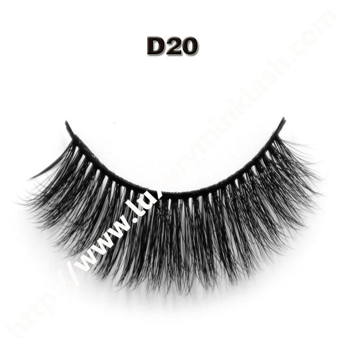 Wholesale velour mink strip eyelashes
