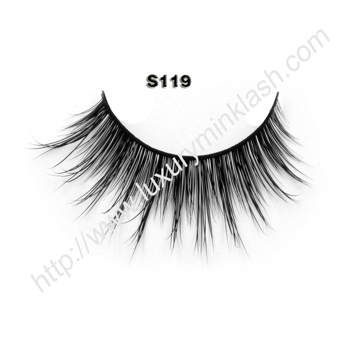 China Regular Mink Eyelashes S119
