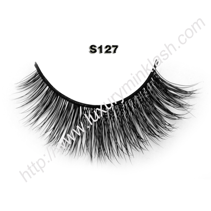 are those real mink lashes S127