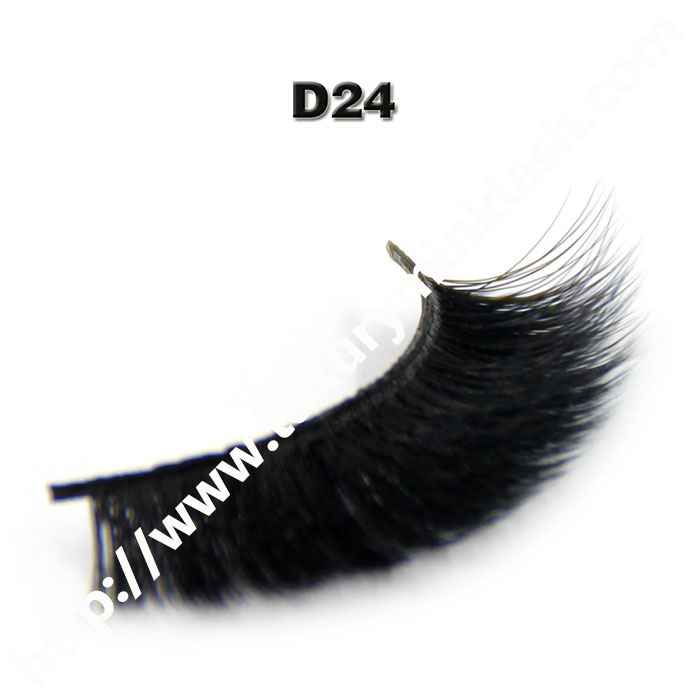 3D Velour Eyelashes wholesale-D24