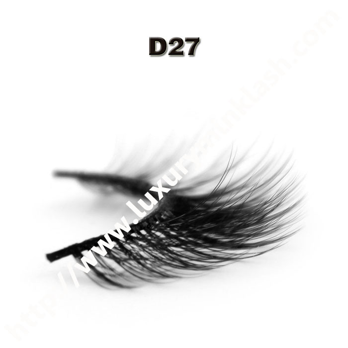 3D Velour Eyelashes wholesale-D27