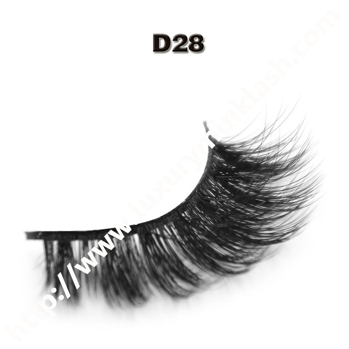 3D Velour Eyelashes wholesale-D28