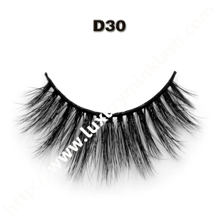 3D Velour Eyelashes wholesale-D30
