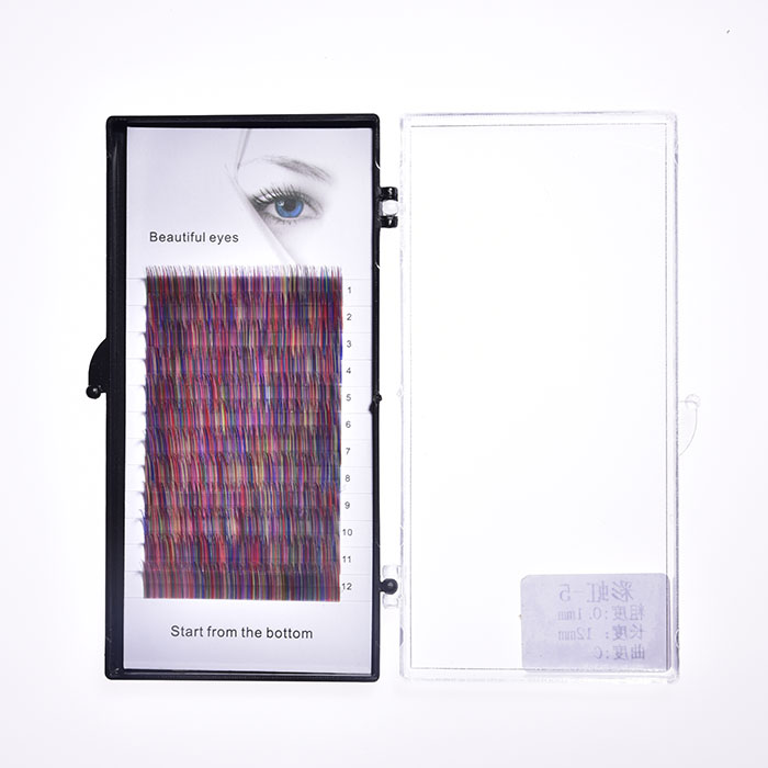 Color Eyelash Extention Supplier