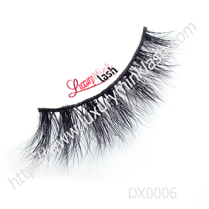 custom package 3d mink lashes with private label