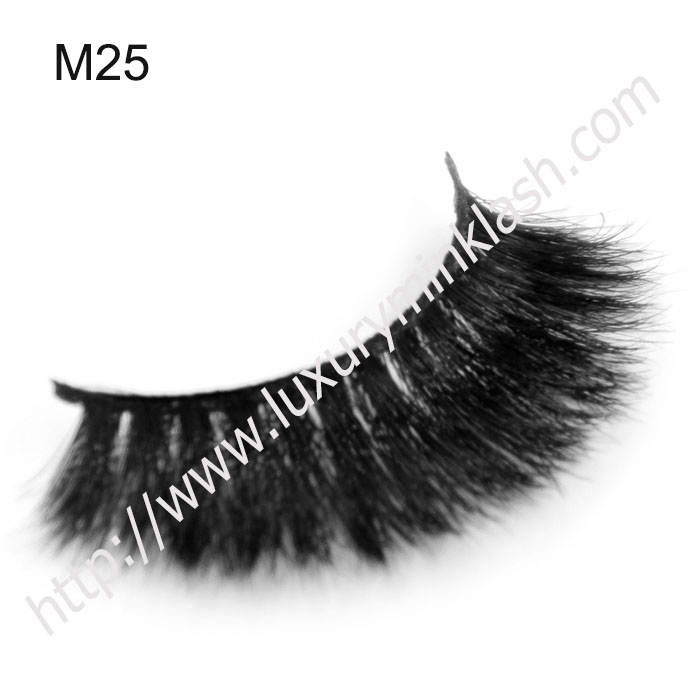 high quallity long lasting horse fur eyelashes