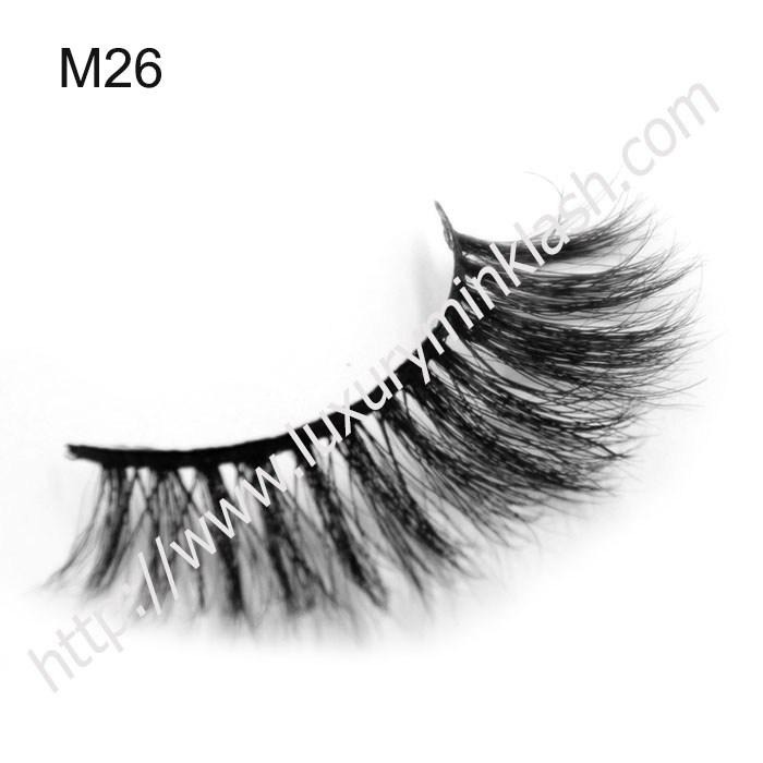 Customized Package Horse Fur False Eyelashes