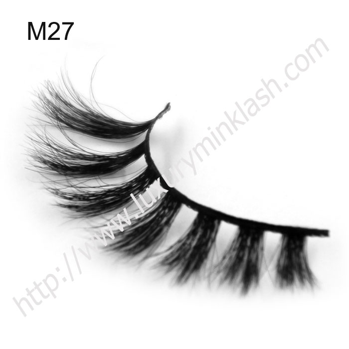 High Quality Real Horse Fur Strip False Eyelash