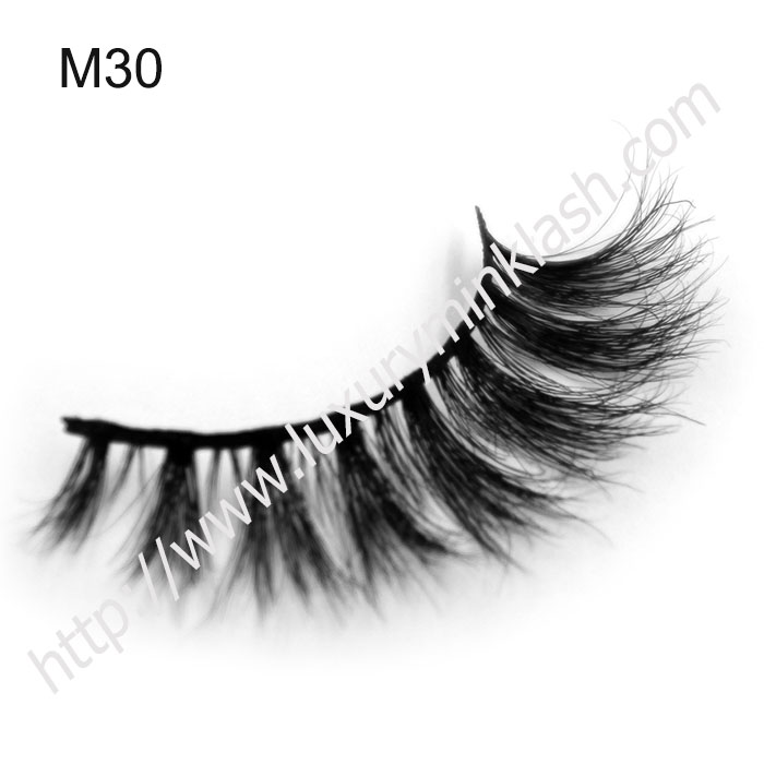 High Quality Super Dense Horse Fur Strip Eyelashes