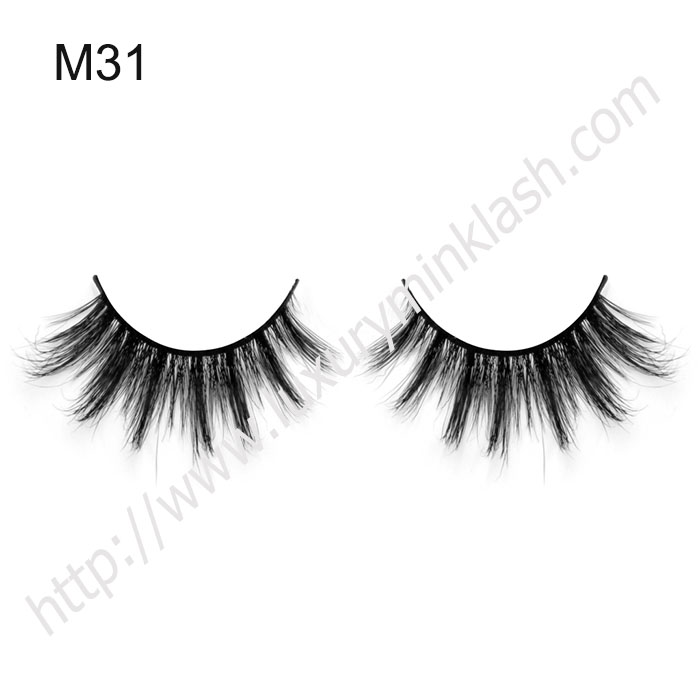 hand made lashes thick long real horse hair lashes