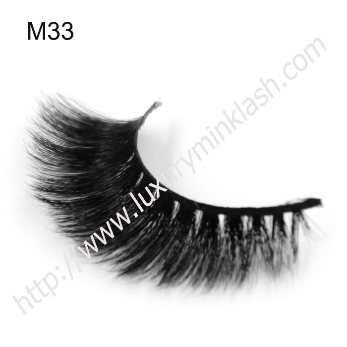 thick crisscrossing fluffy wild horse fur false eyelashes
