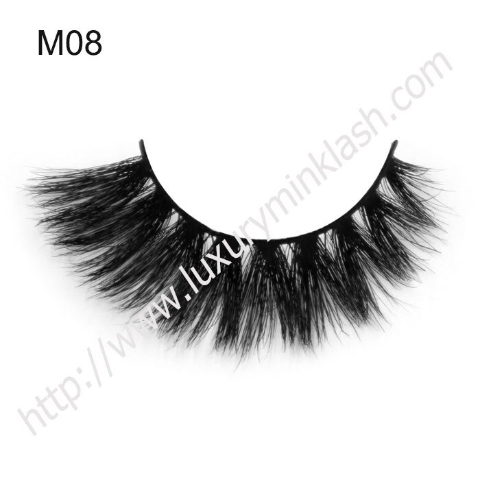 Nice Quality Custom Brand Curly Horse Hair Lashes