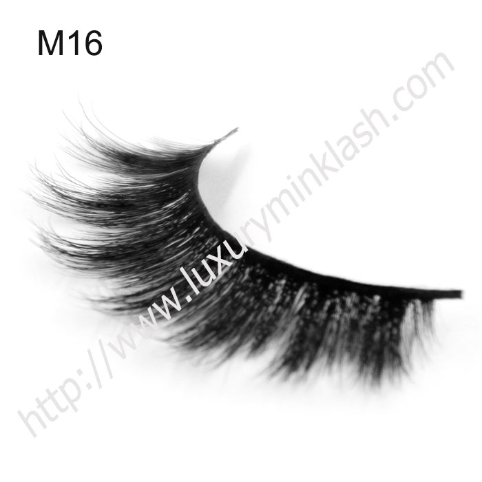 Newest Horse Hair Eyelashes With Custom Box
