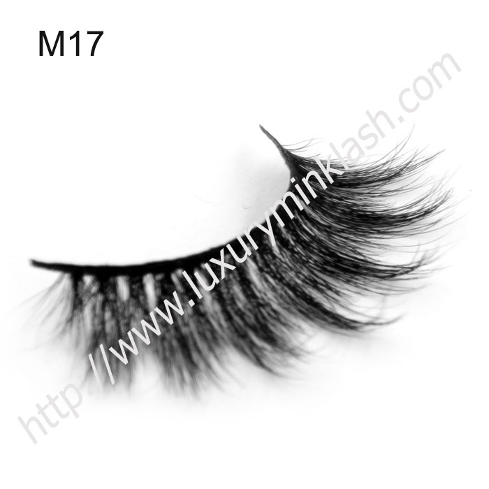 Wholesale horse hair eyelashes with custom box
