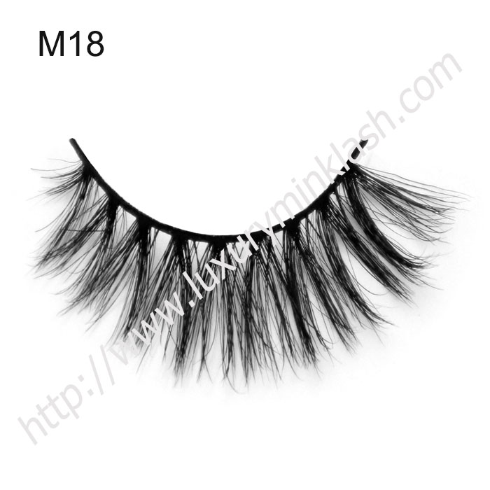 horse hair eyelashes with private label