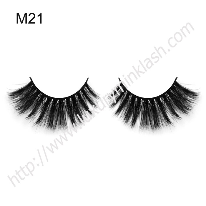 top quanlity horse hair eyelashes with private logo