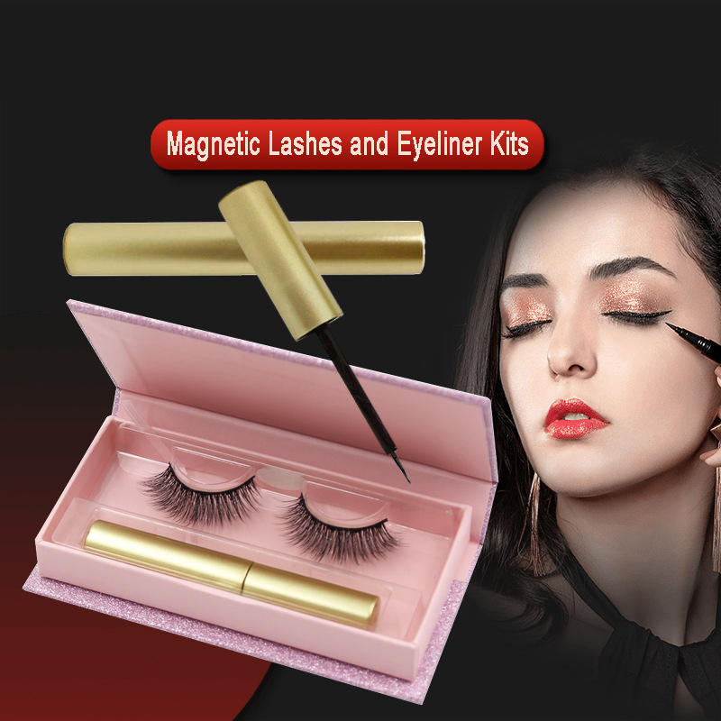 magnetic mink  lashes and eyeliner suppliers