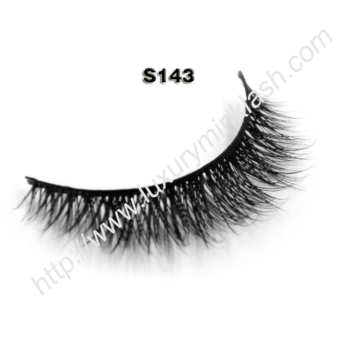 mink vs natural lashes S143