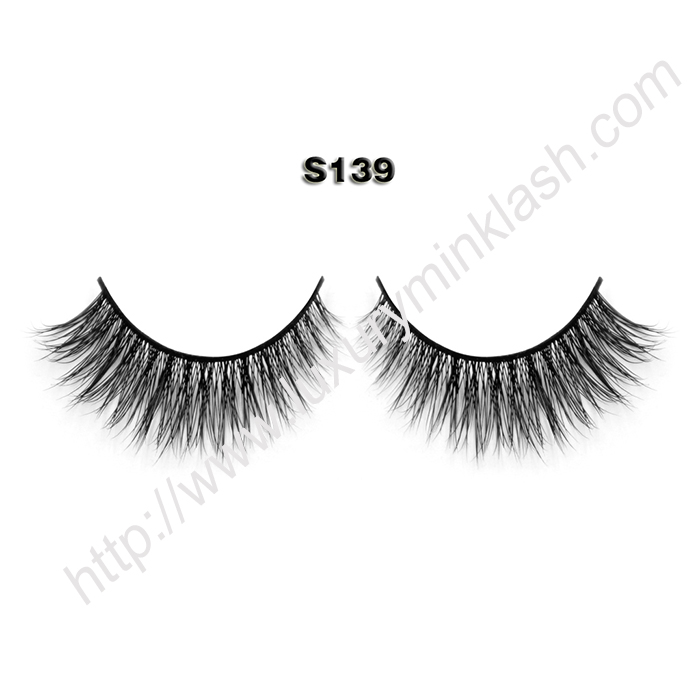natural looking mink lashes S139