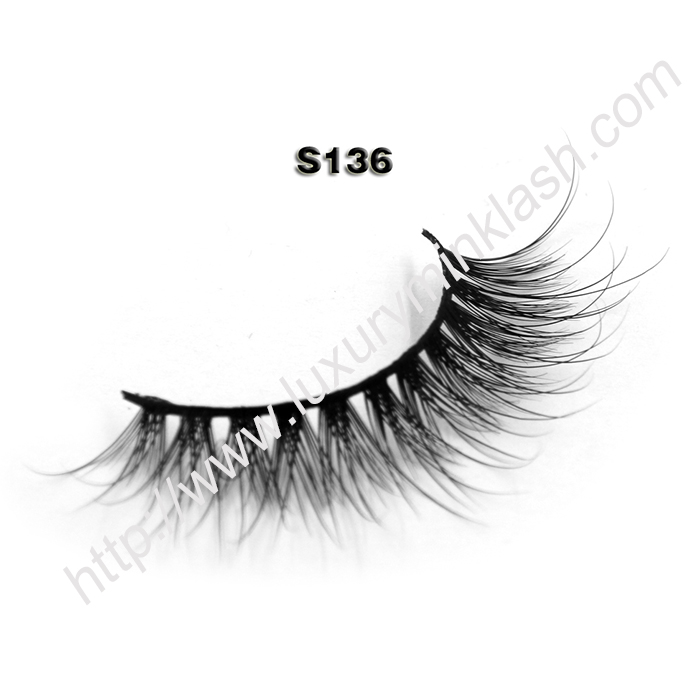 real mink lashes wholesale S136